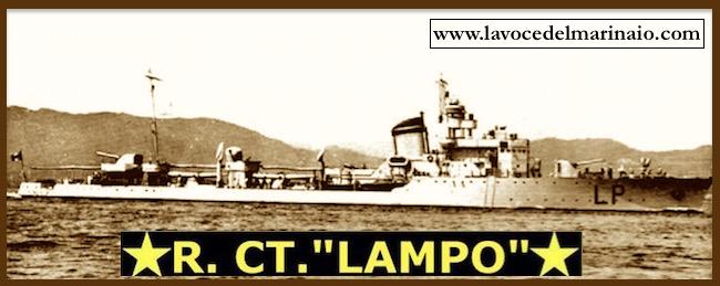 regia cacciatorpediniere Lampo - www.lavocedelmarinaio.com