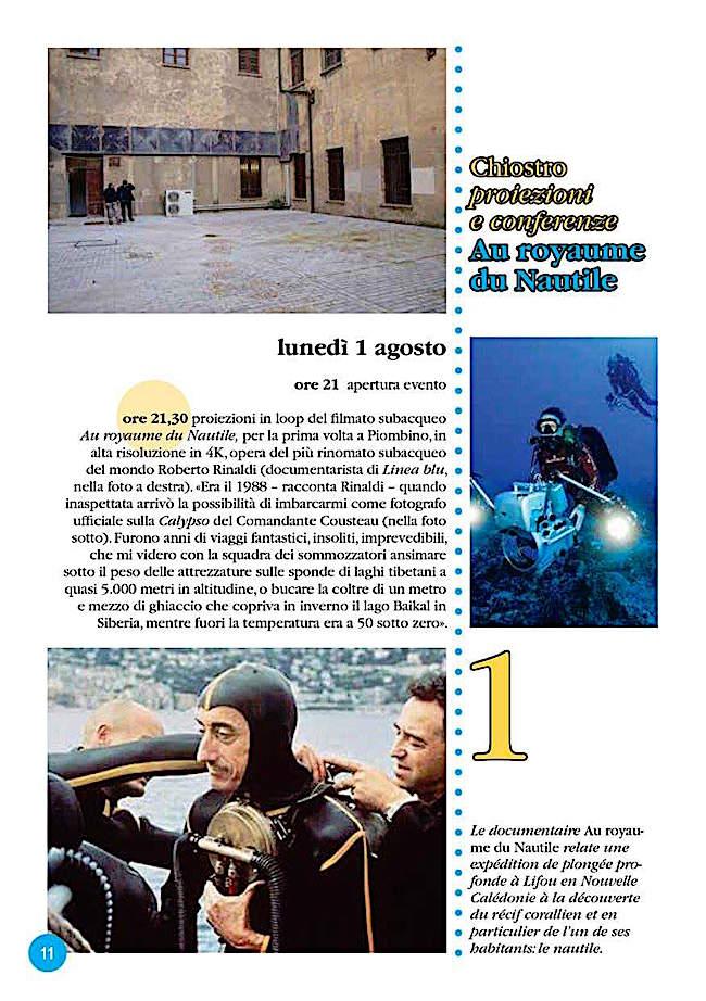 1.8.2016 a Piombino Au royaume du Nautile - www.lavocedelmarinaio.com