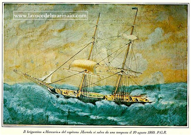 10.8.1860 brigantino Mercurio www.lavocedelmarina.com
