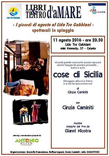 11.8.2016 con Cinzia Caminiti - www.lavocedelmarinaio.com