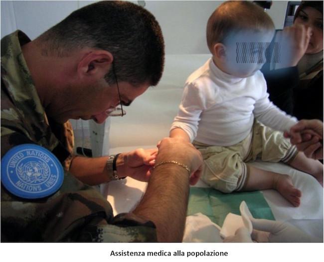 2. operazione Leonte assistenza medica alla popolazione