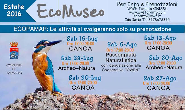 27.8.2016 a Taranto Ecomuseo - www.lavocedelmarinaio.com