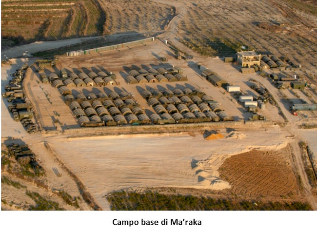 3. Operazione Leonte Campo base di Ma'raka