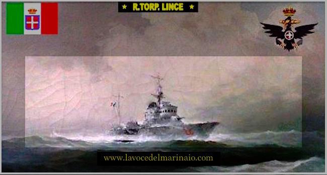 4.8.1943 REGIA NAVE LINCE - www.lavocedelmarinaio.com