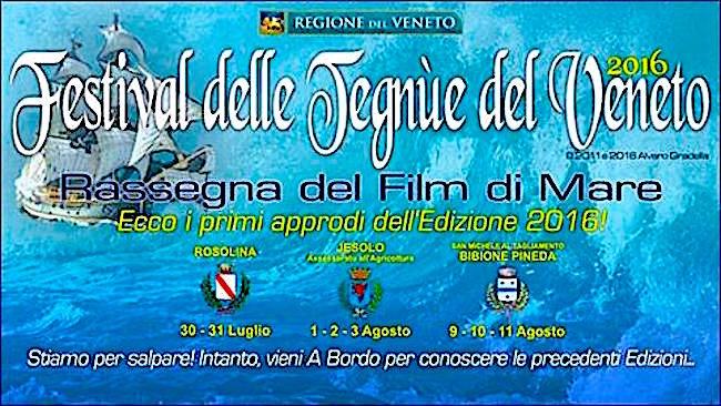 9-11.8.2016 a Bibione Pineda Rassegna del Film di Mare - www.lavocedelmarinaio.com