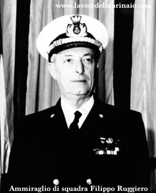 Ammiraglio di Squadra Filippo Ruggiero - Foto Marina Militare