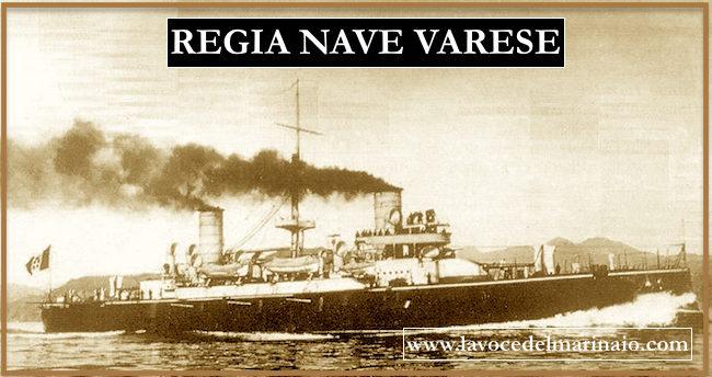 Incrociatore corazzato Varese - www.lavocedelmarinaio.com