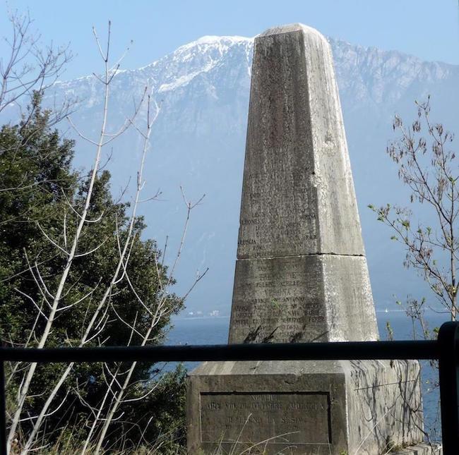 Monumento ai caduti della cannoniera Sesia - foto internet