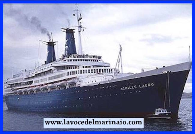 Nave Achille Lauro - www.lavocedelmarinaio.com