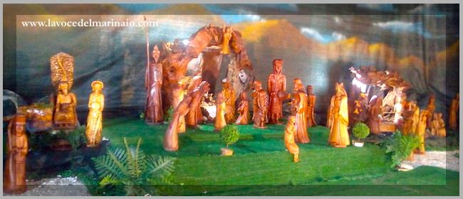 Presepe di Novello Pastorelli a Civita Castellana - www.lavocedelmarinaio.com