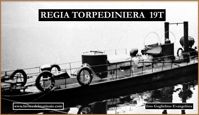 Regia torpediniera 19T f.p.g.c. Guglielmo Evangelista a www.lavocedelmarinaio.com
