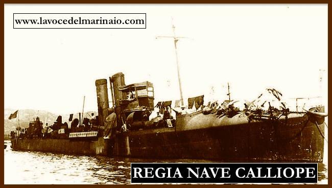 regia torpediniera d'alto mare Calliope - www.lavocedelmarinaio.com