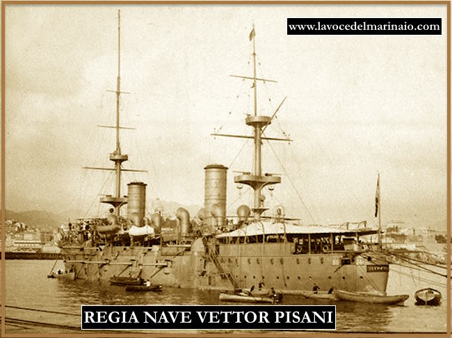 regio incrociatore Vettor Pisani - www.lavocedelmarinaio.com