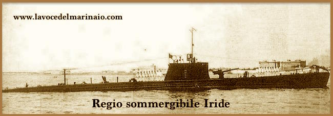 regio sommergibile Iride - www.lavocedelmarinaio.com