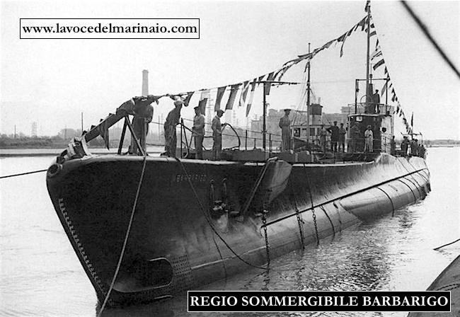 regio sommergibile barbarigo - www.lavocedelmarinaio.com