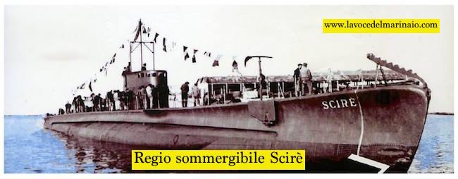 regio sommergibile scirè - www.lavocedelmarinaio.com