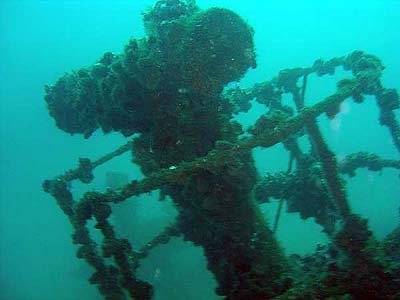 relitto della regia nave Rossarol - www.lavocedelmarinaio.com