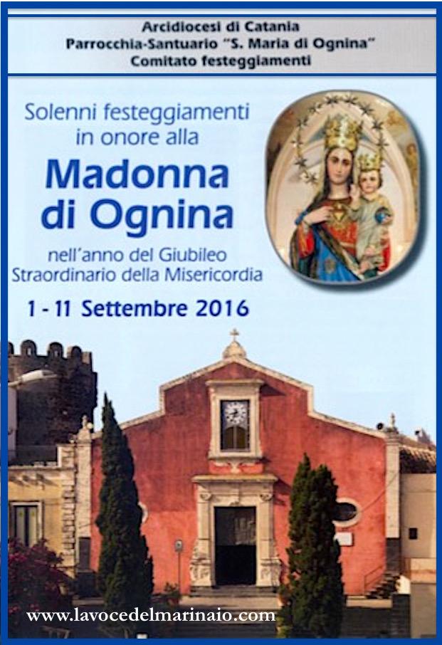 1-11.9.2016 Madonna di Ognina