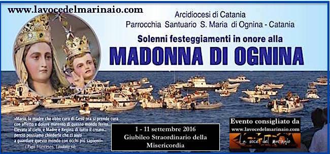 1-11.9.2016 madonna di Ognina www.lavocedelmarinaio.com
