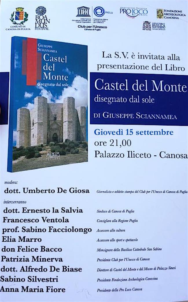 15-9-2016-a-canosa-di-puglia-presentazione-libro-castel-del-monte-disegnato-dal-sole-di-giuseppe-sciannamea-www-lavocedelmarinaio-com
