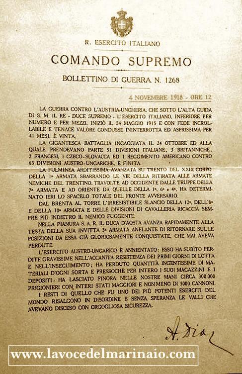 4-novembre-1918-bollettino-di-guerra-n-1268-copia-www-lavocedelamarinaio-com