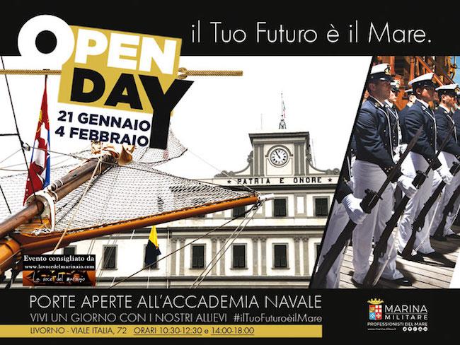21.1. - 4.2.2017 Open dayAccademia militare di Livorno - www.lavocedelmarinaio.com