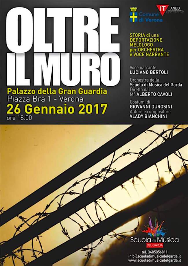 26.1.2017 a Verona Oltre il muro - www.lavocedelmarinaio.com