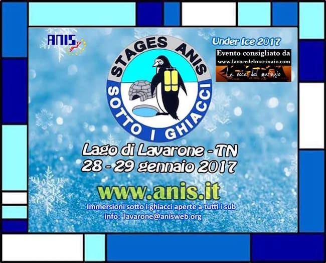 28-29.1.2017 sotto i ghiaggi del Lago di Lavarone con anis - www.lavocedelmarinaio.com