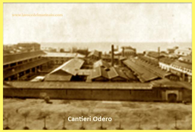 Cantieri Odero Genova - www.lavocedelmarinaio.com