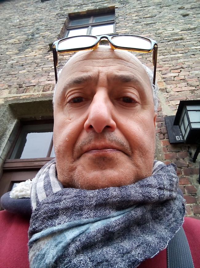 Ezio Vinciguerra Auschwitz 2 aprile 2016 - www.lavocedelmarinaio.com