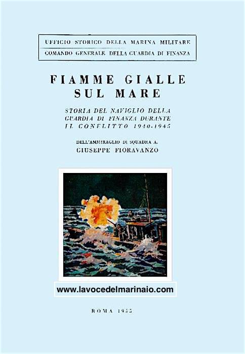 Fiamme Gialle su mare la copertina - www.lavocedelmariaio.com