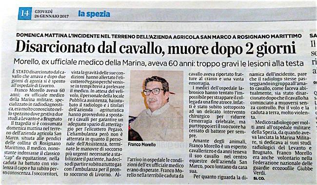 Franco Morello articolo de IL SECOLO XIX copia - www.lavocedelmarinaio.com