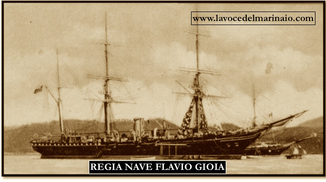 Regia nave Flavio Gioia - www.lavocedelmarinaio.com