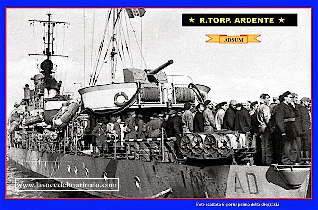 regia nave Ardente - www.lavocedelmarinaio.com