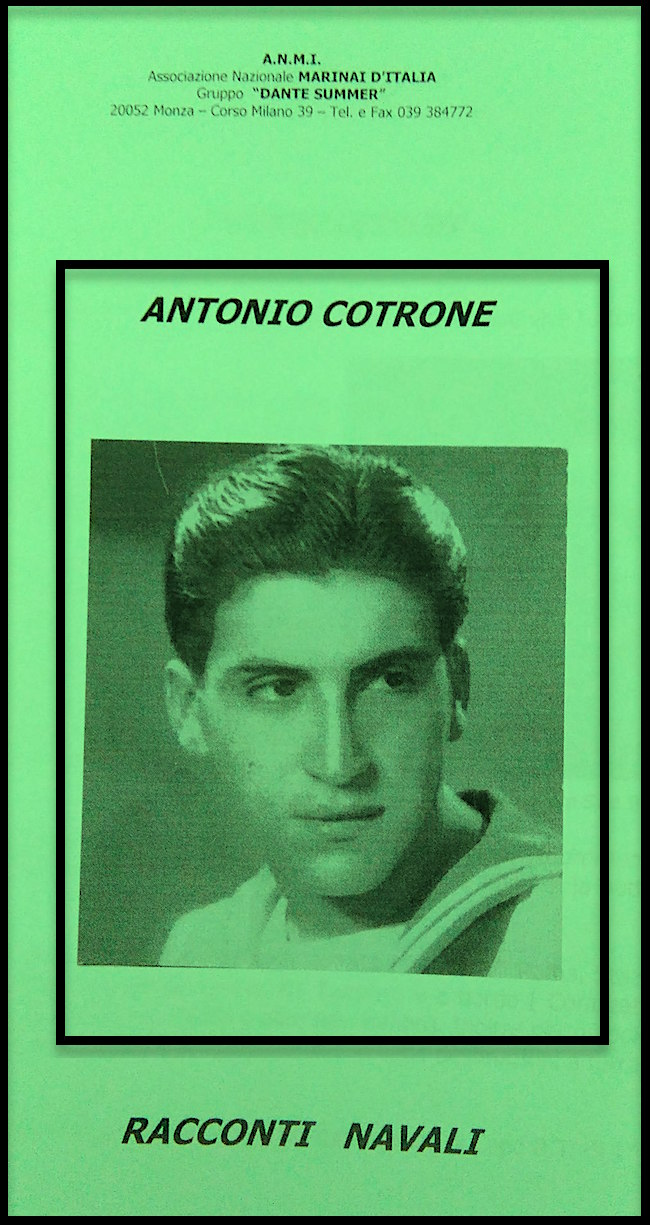 Antonio Cotrone - Racconti navali - www.lavocedelmarinaio.com