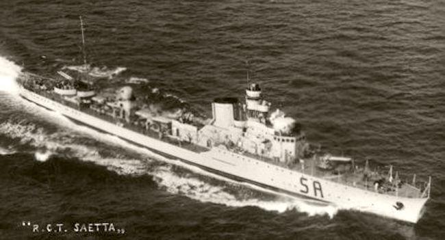 Regia nave Saetta (foto www.trentoincina.it)